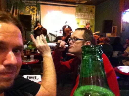 O'Shea's. +Band. -Brian's head.
