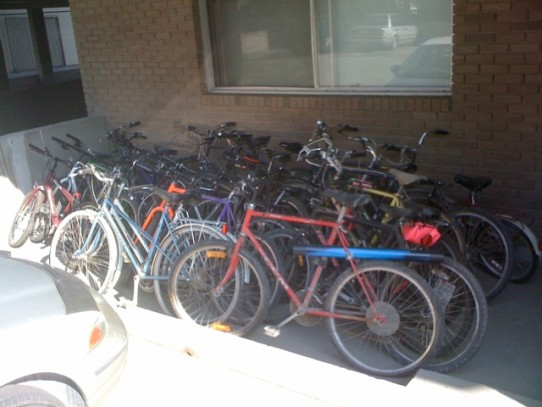 Anybody want a free bike? Building management just cleared out years of ...