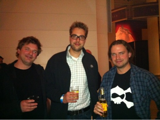 Ambushed @dries for a photo. Man that guy is tall. #werenotworthy
