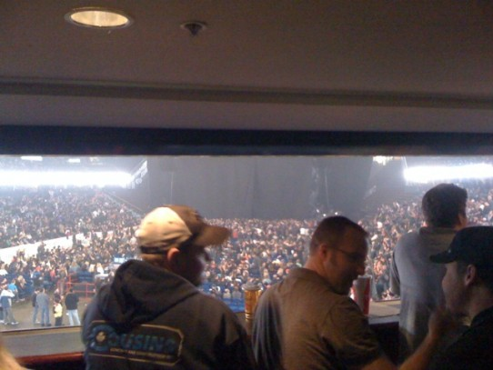 Private box at Motley Crue