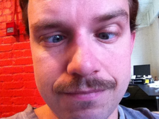 Final day of Movember. Not gonna miss this thing.