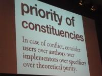 Priority of Constituencies