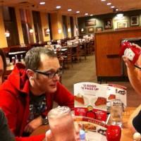 Denny's. +ketchup. #endofline #vegas