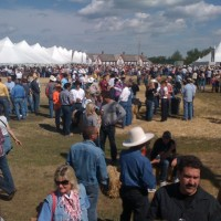At Stampede Roundup party @ Fort Calgary w/ April Wine, 3 Doors Down, and Lynyrd Skynyrd.