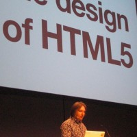 "Jeremy Keith's (author: ""HTML5 For Web Designers"") keynote. ""XHTML violates ..."