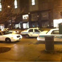 All the cabs in this city look like police cars #chicago