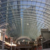 World's biggest skylight now open in Calgary Eaton Centre, pretty eye popping